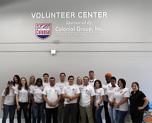 Colonial Cares – America's Second Harvest