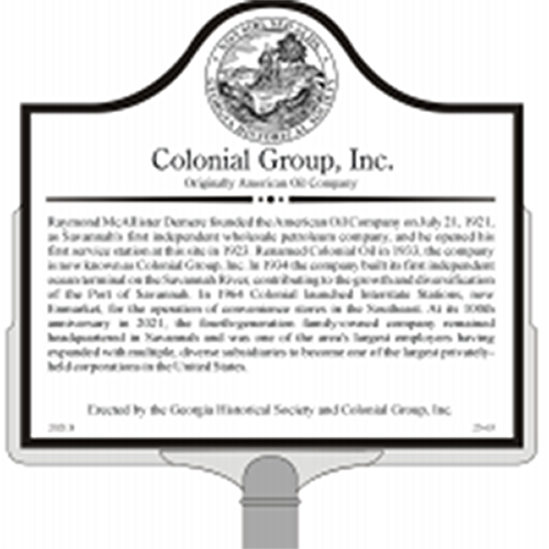 Colonial Group Historical Marker